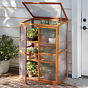 Wood Greenhouse