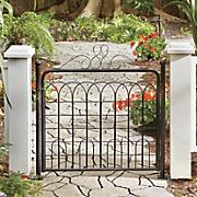 Scroll Garden Gate