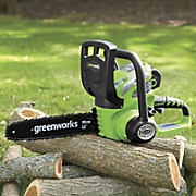 "12"" 40-Volt Cordless Chainsaw by Greenworks"