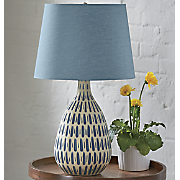 Denim Shade Table Lamp