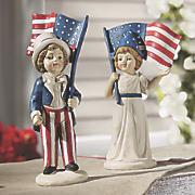 Americana Kids Figurine