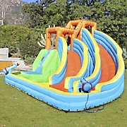 Twin Peaks Inflatable Water Slide by Sportspower