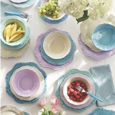 Melamine Octagon Dinnerware Set