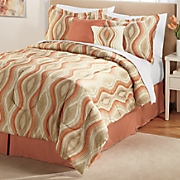 antonella complete bed set  accent pillows and window treatments