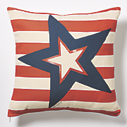 Star Time Patriot Indoor/Outdoor Pillow