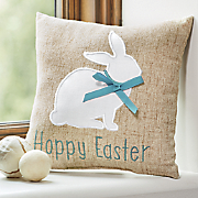 Hoppy Easter Bunny Pillow