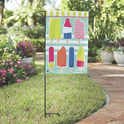 Ice Cream & Popsicle Garden Flag