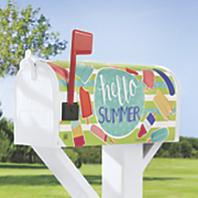 Hello Summer Mailbox Cover