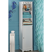 coral tall cabinet