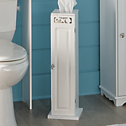 coral toilet paper holder