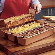 Copper Loaf Pan Set
