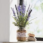 Lavender in Glass Jar