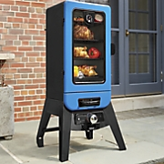Blue Blazing Electric Smoker by Pit Boss