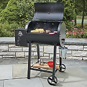 wood pellet grill by pit boss