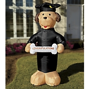 Inflatable Graduation Dog