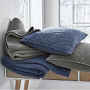 vintage wash solid oversized quilt
