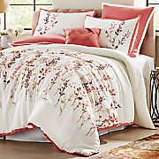Spring Blossom Mini Comforter Set, Accent Pillow and Euro Sham Set