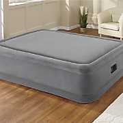 Flocked Air Bed by Intex