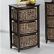 curved front 3 basket stand