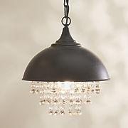 metal and crystal chandelier 139
