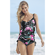 tiered tankini top