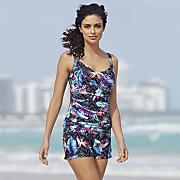 Hot Tropics Tankini Top & Swim Shorts