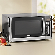 1.2 Cu. Ft. Stainless Steel Microwave Oven by RCA