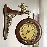 wood street clock