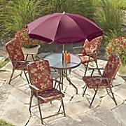 Floral Patio Set