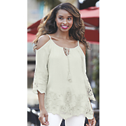 gidget cold shoulder top