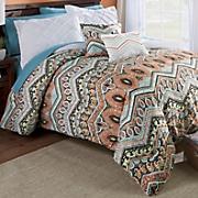 5 pc  melody reversible comforter set