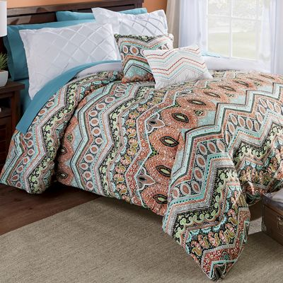 5-Piece Melody Reversible Comforter Set