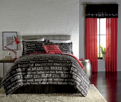 Dreamland Comforter Set, Accent Pillow and Window Treatments