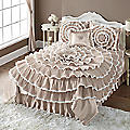 Bella Lace Bed Skirt