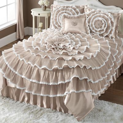 Bella Lace Bedding and Window Treatments