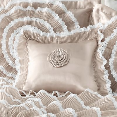 Bella Lace Accent Pillow