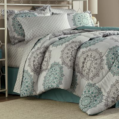 Tasmin Complete Bed Set and Window Treatments