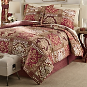 potomac comforter set and window treatments