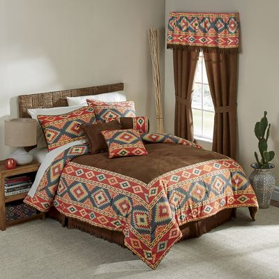 Rimrock Bed Set and Window Treatments