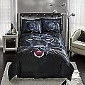 Savage Panther Comforter Set