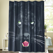 Savage Panther Shower Curtain 42