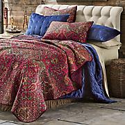 crimson oversized quilt