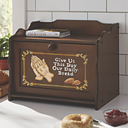 Give Us This Day Our Daily Bread Breadbox