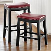brinx saddle counter stool