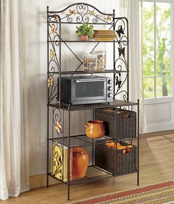 Harvest Butterfly Kitchen Accessories
