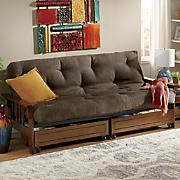 Mission Storage Futon and Mattress