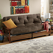 mission storage futon