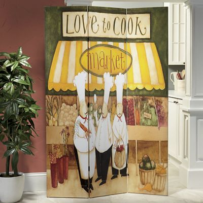Love to Cook Room Screen