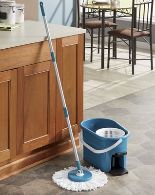 Teal Spin Mop by Fuller Brush Co.