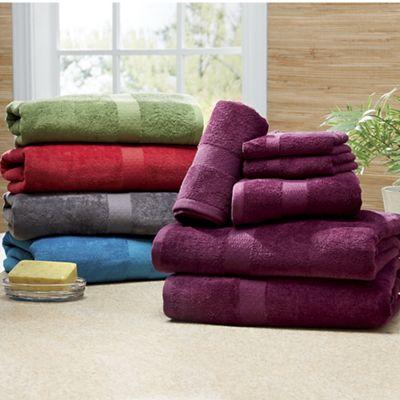 Rich Velvet Towel Set